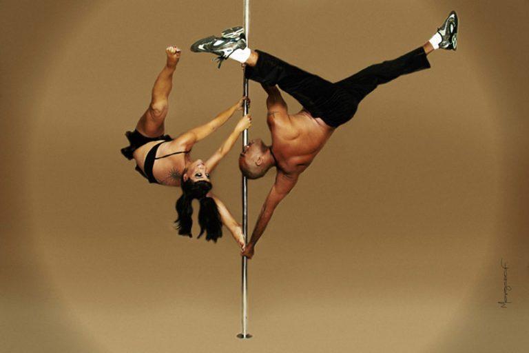 Những khó khăn khi tập bộ môn múa cột