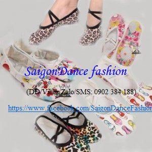 Giày vải hoa - MS38 2