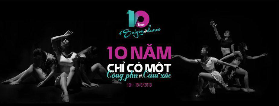 BÙNG NỔ SÂN KHẤU SAIGON & DANCE: 10 NĂM CHỈ CÓ 1 LẦN 2