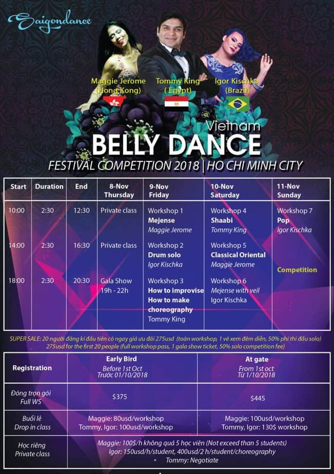 Viet Nam Belly dance Festival 2018 1