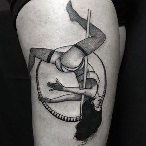 NHỮNG Ý TƯỞNG HÌNH XĂM CỰC ĐẸP MẮT DÀNH CHO CÁC TÍN ĐỒ MÚA CỘT (POLE DANCE 'S TATTOO) 6