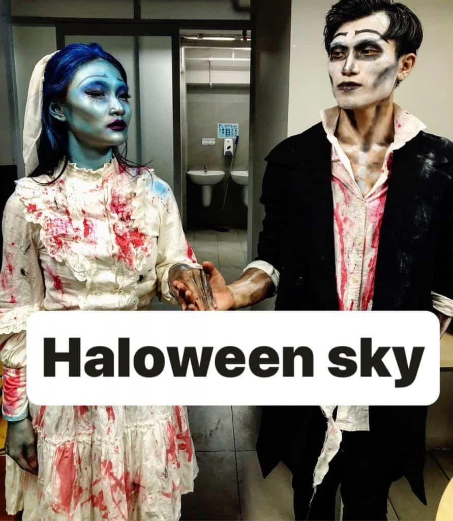 Dịch Vụ Hoá Trang Halloween Tại TpHCM 6