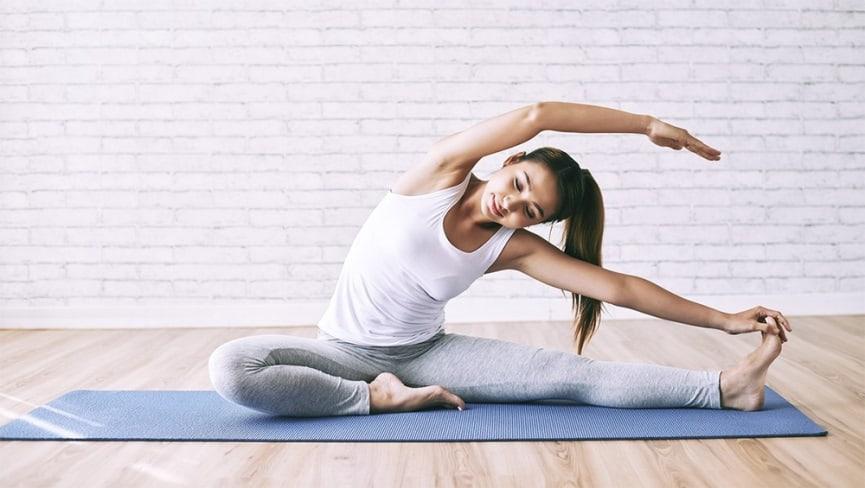 lỗi thường gặp khi tập yoga bay