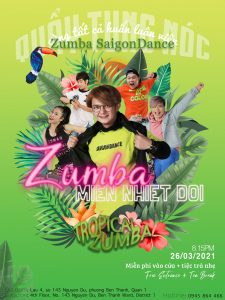 Zumba Party Poster