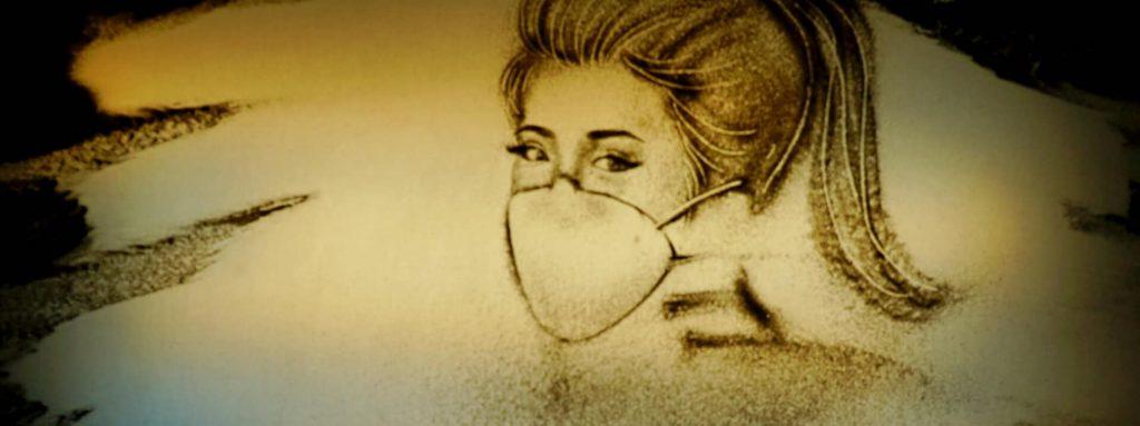 Cho Thuê Họa Sĩ Vẽ Tranh Cát Chuyên Nghiệp, Nghệ Sĩ Biểu Diễn Tranh Cát Động Mỡ Màn Sự Kiện 4