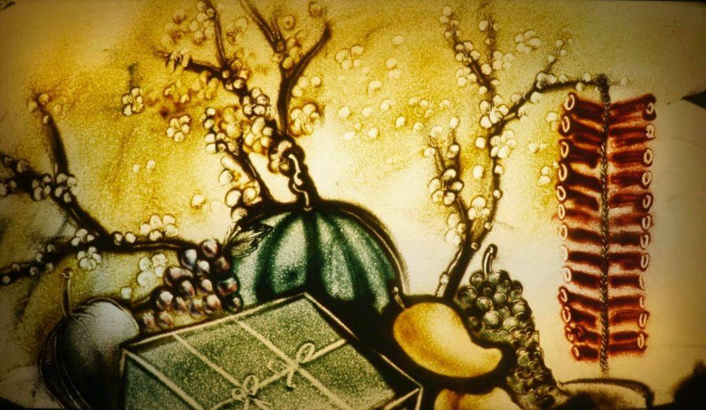 Cho Thuê Họa Sĩ Vẽ Tranh Cát Chuyên Nghiệp, Nghệ Sĩ Biểu Diễn Tranh Cát Động Mỡ Màn Sự Kiện 2