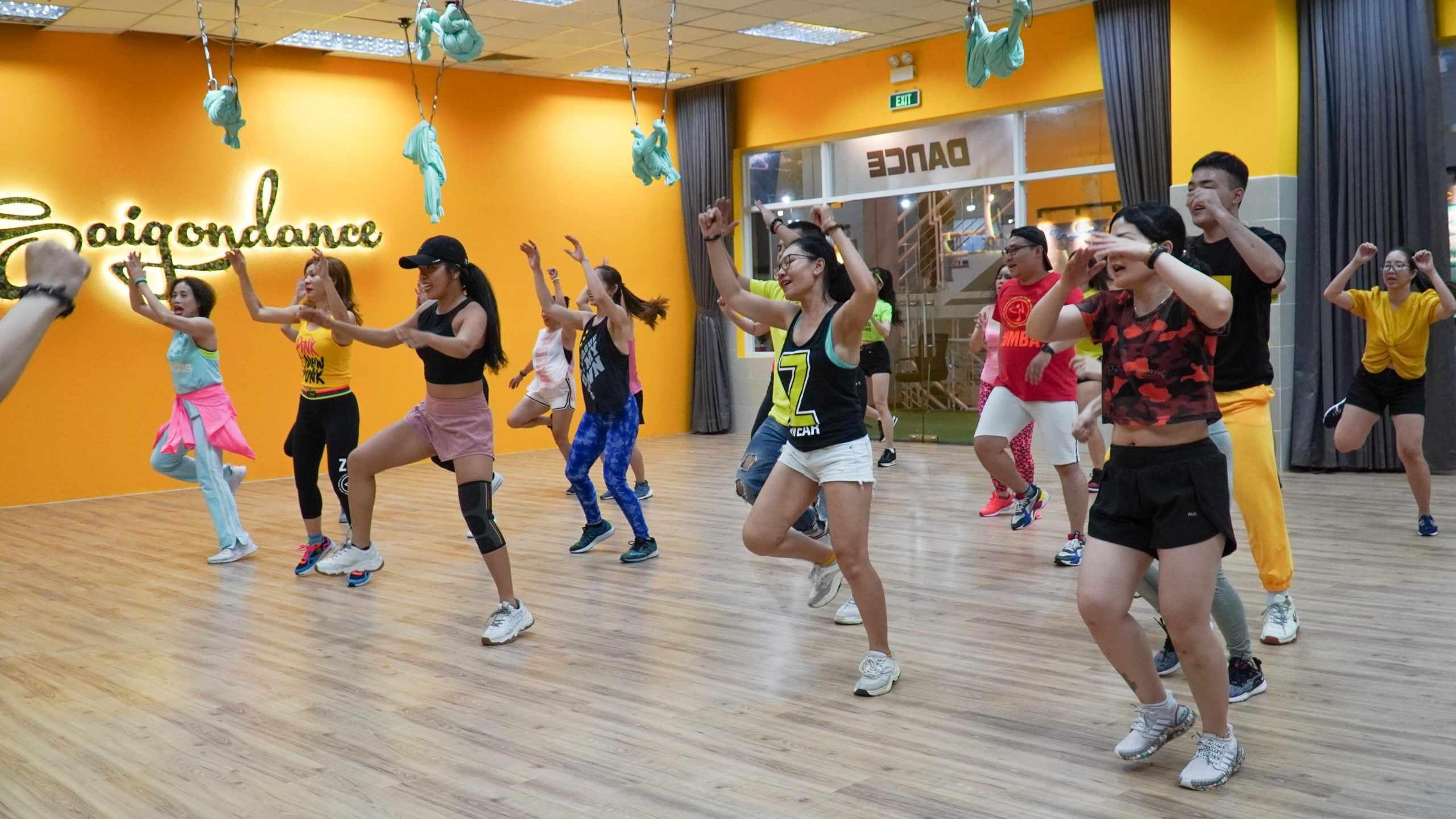 EXCITING ACTIVITIES DURING THE FIRST MONTH OF SAIGONDANCE DISTRICT 1 11